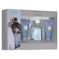 Chrome Azzaro 3 Piece Men's Fragrance Gift Set