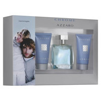 Chrome Azzaro 3 Piece Men's Fragrance Gift Set