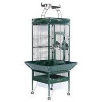 Prevue Hendryx Signature Select Series Wrought Iron Bird Cage in Metallic Jade (Medium; 24