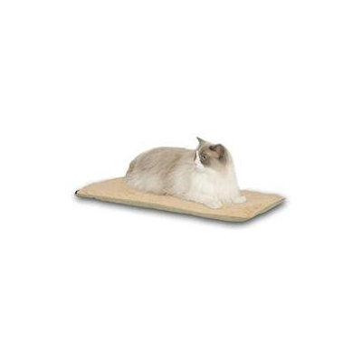K & H Manufacturing Heated-Kitty Mat Cat Bed