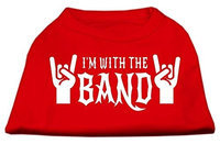 Ahi With the Band Screen Print Shirt Red XXXL (20)