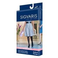 Sigvaris 770 Truly Transparent 20-30 mmHg Women's Closed Toe Knee High Sock - Size: M4, Color: Suntan 36