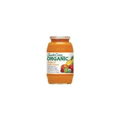 Santa Cruz Organic Organic Tropical Fruit Sauce 23 oz. (Pack of 12)