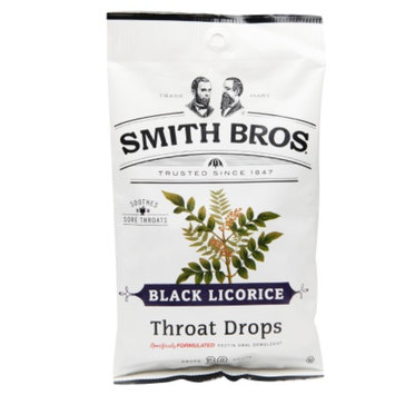 Smith Bros. Throat Drops, Black Licorice, 30 ea