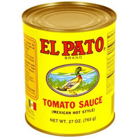 El Pato Mexican Hot Style Tomato Sauce, 27 oz