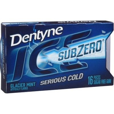 Dentyne Ice Sub Zero Glacier Mint Sugar Free Gum