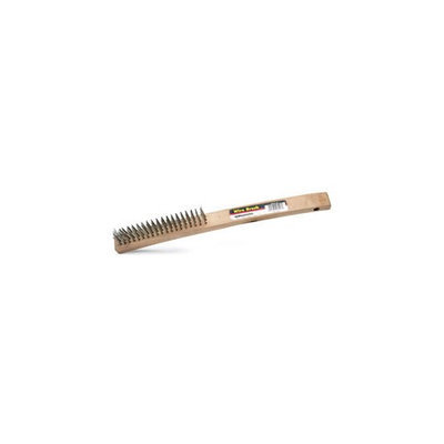 Roadpro SST-01137 Wire Brush Wooden Handle