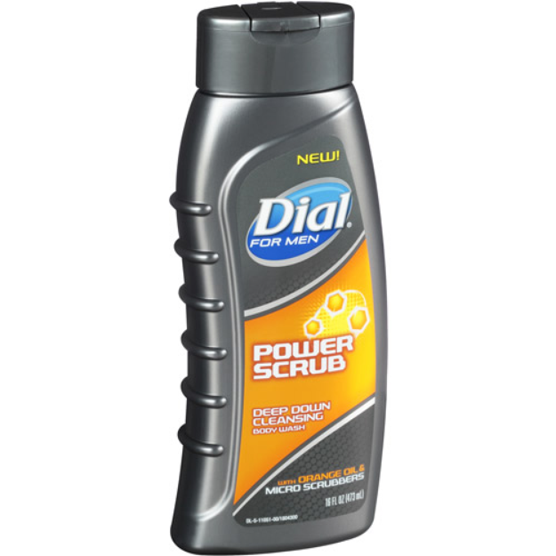 Dial® for Men Body Wash, Power Scrub