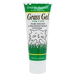 Gimborn Grass Gel for Cats (4-oz flip top tube)