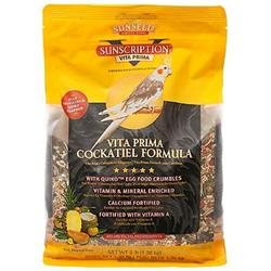Sun Seed Vita Prima Cockatiel Bird Food 3lb