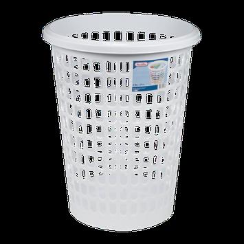 Sterilite Round Laundry Hamper White