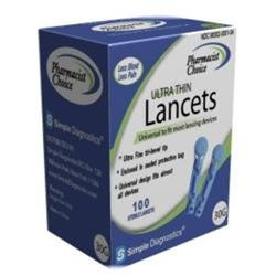 Pharmacist Choice Twist Top 30G Lancets (pack of 100)