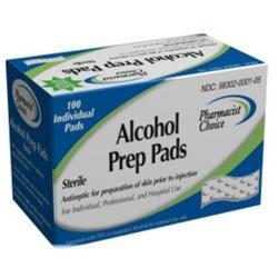 Simple Diagnostics Pharmacist Choice Alcohol Prep Pads