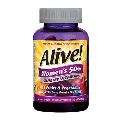 Alive! Women's 50+ Gummy Vitamins