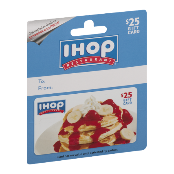IHOP Restaurant Gift Card $25