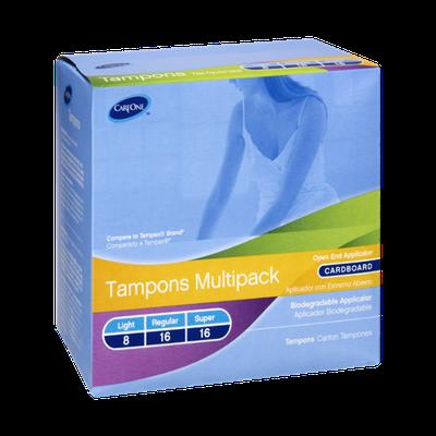 CareOne Multipack Light, Regular, Super Tampons - 40 CT
