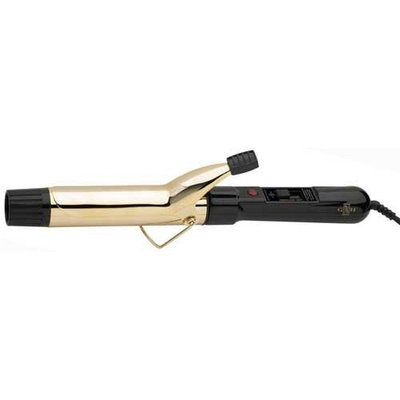 Belson Gold 'N Hot Professional Gold Barrel Curling Iron, 1-1/4 Inch