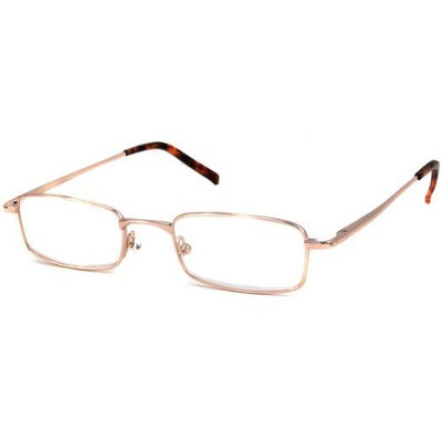 Calabria Readers Reading Glasses - R753 Shiny Gold / SHINY GOLD +4.00