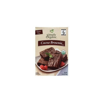 Simply Organic Cocoa Brownie Mix, 13-Ounce Box