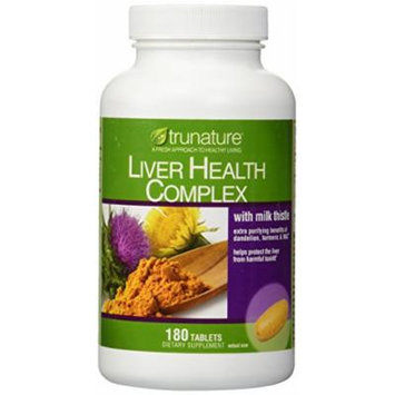 TruNature Liver Health Complex with Milk Thistle - 180 Tablets