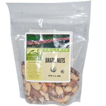 Woodstock Farms Organic Brazil Nuts -- 8.5 oz