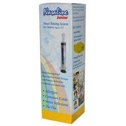 Nasaline Junior, Nasal Rinsing System, 1 Kit, Squip Products