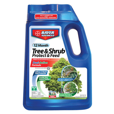 Bayer-pursell, Llc Bayer 10 lb. 12 Month Tree & Shrub Protect & Feed Granules