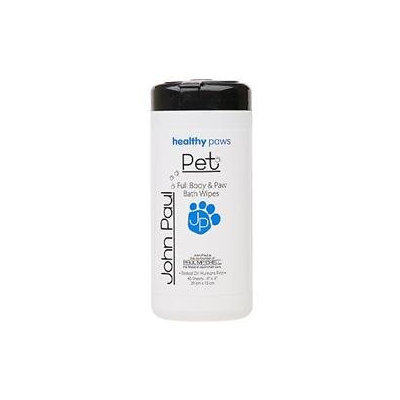 John Paul Pet Full Body and Paw Wipes