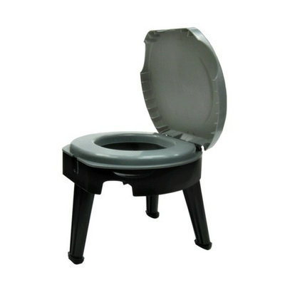 Reliance Fold To Go collapsible Toilet - Grey
