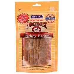Smokehouse Treats Smokehouse Pet Products Turkey Breast Dog Treat