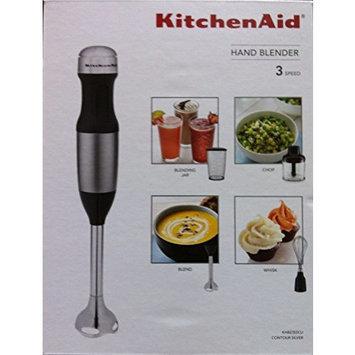 KitchenAid KHB2352CU 3-Speed Hand Blender - Contour Silver