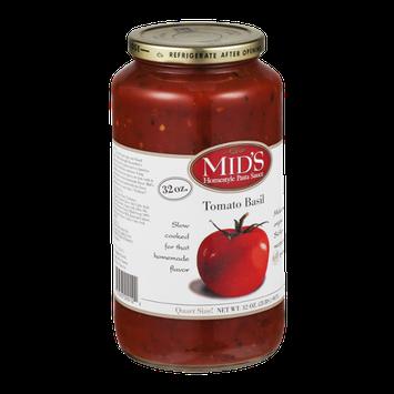 Mid's Homestyle Pasta Sauce Tomato Basil