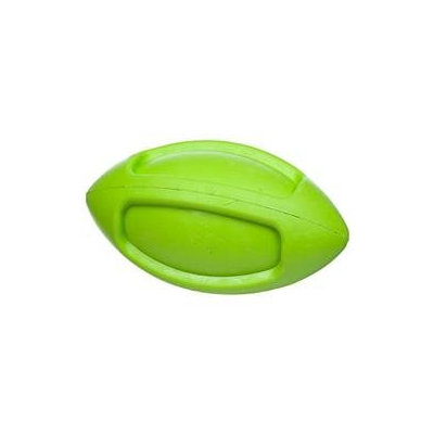 JW Pet iSqueak Funble Football Rubber Dog Toy: Large