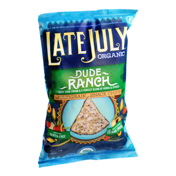 Late July Organic Gluten Free Dude Ranch Multigrain Snack Chips