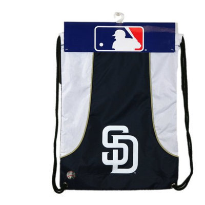 Concept One MLB San Diego Padres Team Color Back Sack - School Supplies