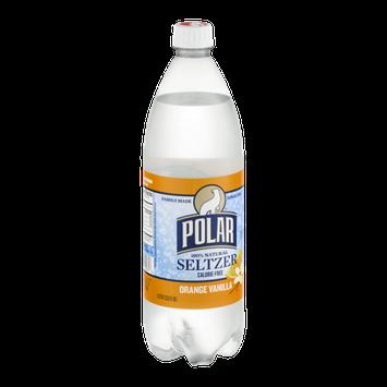 Polar Seltzer Orange Vanilla