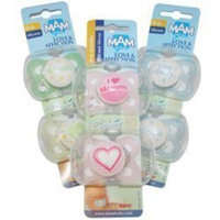 Mam love-Affection Pacifier 2 Months and Up ~ Girl color