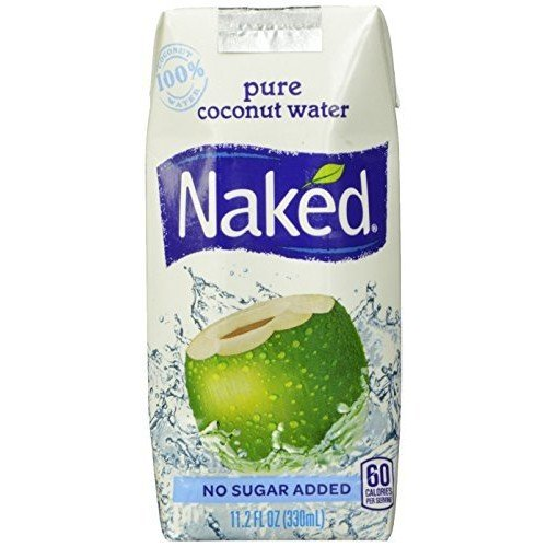 Naked Juice Naked 100% Naked Coconut Water, 11.2-Ounce Containers (Pack of 12)
