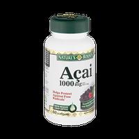 Nature's Bounty Acai 1000mg Dietary Supplement Rapid Release Liquid Softgels - 60 CT
