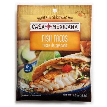 Casa Mexicana Fish Tacos Seasoning Mix, 1-Ounce Bags (Pack of 12)