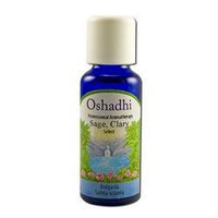 Oshadhi - Essential Oil, Sage Clary Extra Organic, 5 ml