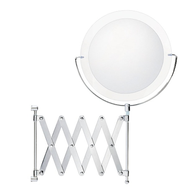 Danielle Chrome Extension Mirror with 6X Magnification