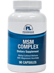 MSM Plus 90ct Caps by Progressive Labs