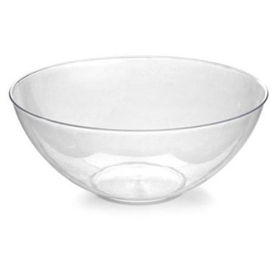 Fineline Settings 3504-WH Platter Pleasers 100 oz White Bowl