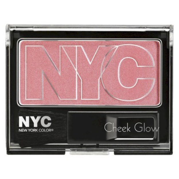 NYC Color Cosmetics NYC Cheek Glow Blush - Prospect Park Rose