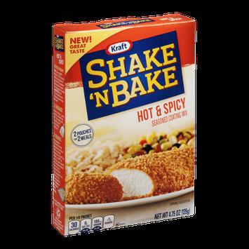 Kraft Shake 'N Bake Seasoned Coating Mix Hot & Spicy