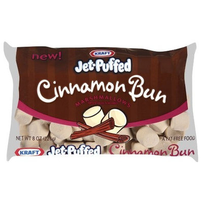 Jet Puffed Cinnamon Bun Mini Marshmallow, 8-Ounce (Pack of 8)