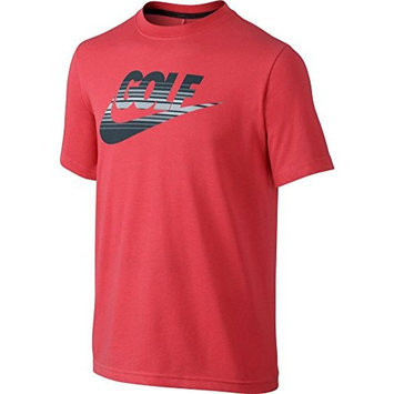 Nike Amplify Youth Tee [Daring Red, Small]