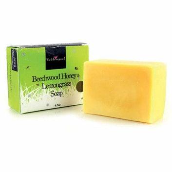 Wedderspoon Bar Soap Beechwood Honey and Lemongrass 6.7 oz