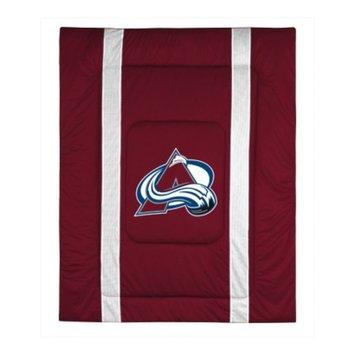 Sports Coverage 05JSCOM5AVAQUEN NHL Colorado Avalanche Queen Sideline Comforter